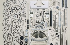 Disassembled electronics objects - Todd McLellan