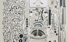 Disassembled electronics objects – Todd McLellan