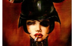Erotic painting by Brian M. Viveros